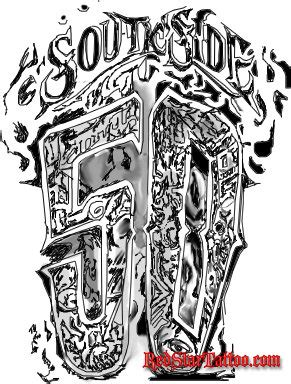 crip tattoo designs gangster designs designs