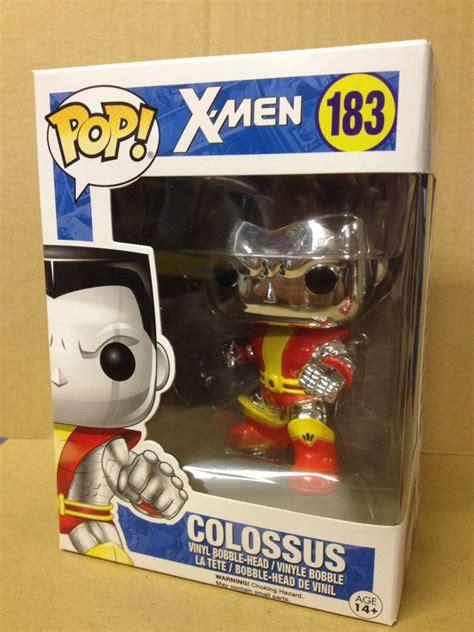Funko Pop Marvel Xmen Colossus funko pop chrome colossus 183 exclusive vinyl figure new eur 31 74 picclick nl