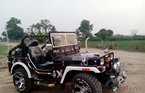 jeep modified classic 4x4 the gallery for gt mahindra classic modified