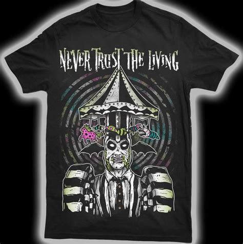 never trust the living t shirt jeremysaffer