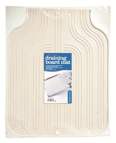 Draining Board Mat by Kitchen Craft Rubber Draining Board Mat 51 X 41cm At Barnitts Store Uk Barnitts