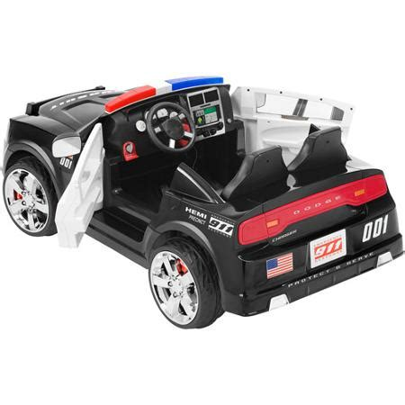 dodge charger car ride on kid trax dodge pursuit car 12 volt battery powered