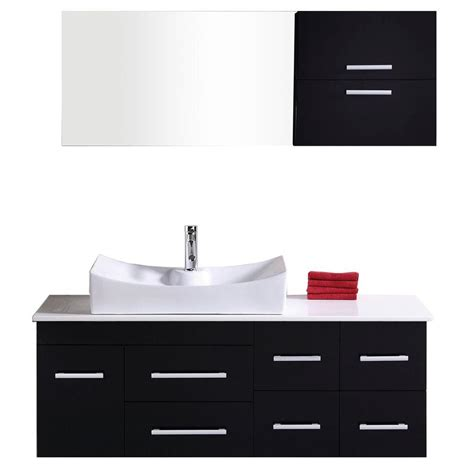 home depot design element vanity design element springfield 54 in w x 20 in d vanity in