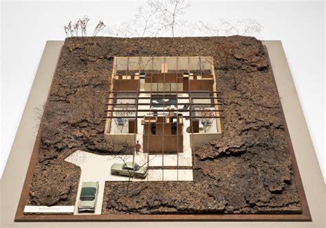 Eichler Plans Case Study House 24 Indoor Outdoor And Underground