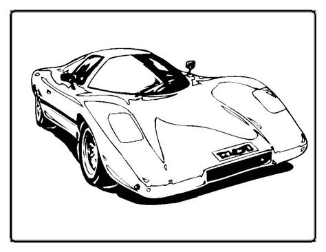 Fast Cars Coloring Pages by Fast Cars Coloring Pages