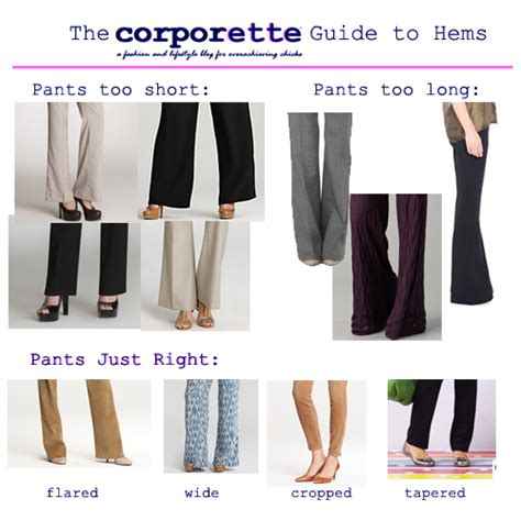 What Is Your Favorite Hem Length by The Proper Hem Lengths For S And Tips On