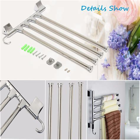 bathroom towel storage wall mounted bathroom kitchen wall mounted rotating towel rack storage