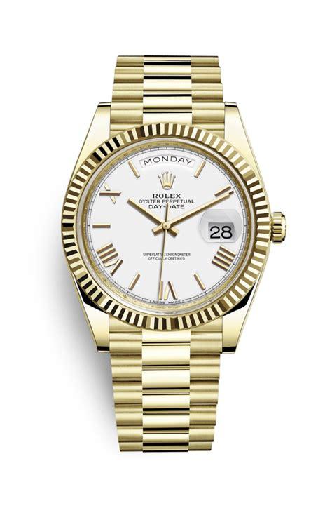 Jam Tangan Wanita Rolex 41 rolex day date 40 uhr 18 karat gelbgold 228238