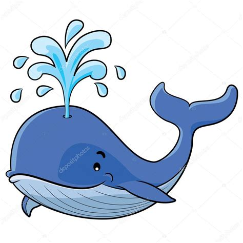 ballenas animadas whale cartoon stock vector 169 rubynurbaidi 35628265