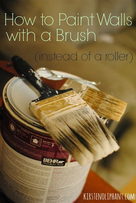how to paint a wall using a roller the best technique how to paint walls using a brush kirsten oliphant