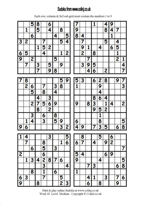 printable sudoku 5 in 1 printable sudoku 6 related keywords printable sudoku 6