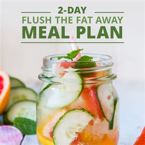 Detox Weekends Away by 2 Day Flush Menu