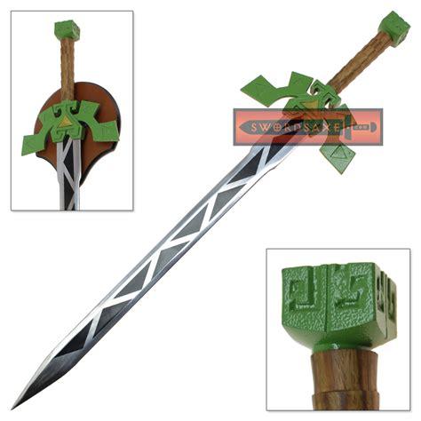 Kalung Metalic Sword 1 legend of spirit tracks lokomo sword steel blade replica tang swords