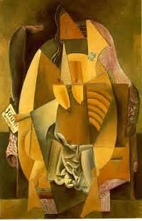 Picasso Woman In An Armchair Picasso Synthetic Cubism Cubism Pinterest