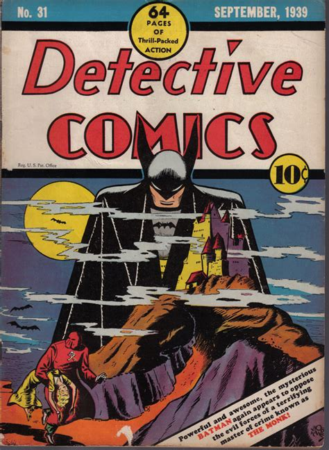 batman detective comics the top ten batman covers from each era part 1 the golden age comics astonish