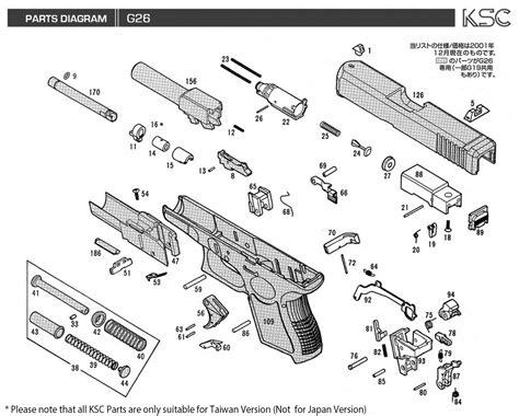 glock parts diagram glock 17 3 diagram glock 22 4 upgrades elsavadorla