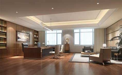 Ceo Office Suspended Ceiling Minimalist Design Download