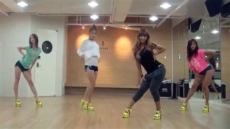 Tutorial Dance Sistar Loving U | sistar loving u mirrored dance practice youtube