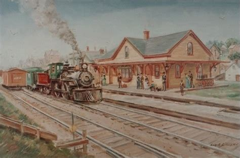 limited edition artwork east greenwich depot american