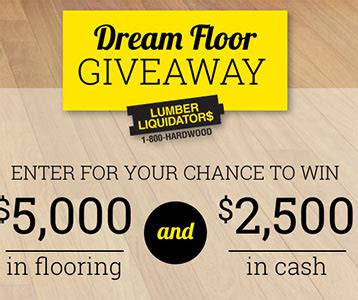 Dream Floor Giveaway Sweepstakes - top 28 floor giveaway dream floor giveaway win 5000 in flooring and 2500 cash