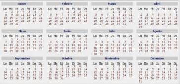 Calendario Republica Dominicana 2018 Calendario Con Feriados 2018 En Calendario