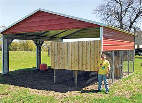Horse Barn Design Ideas Coop Inspiration 10 3 A Carport Coop Countryside Network