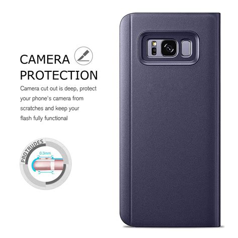 Murah Clear View For Samsung J7 2017 for samsung galaxy j3 j5 j7 pro 2017 clear view mirror