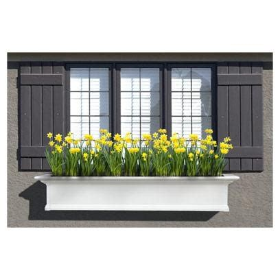 72 inch window box 72 best images about window boxes on white