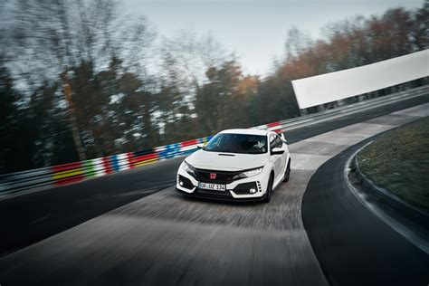 fastest honda model 2017 honda type r is fastest fwd car on the nurburgring