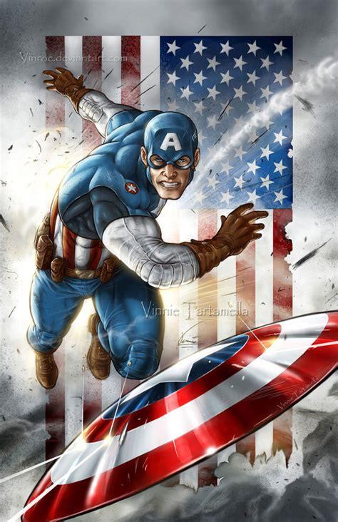 Captain America Vintage 2 Oceanseven captain america 2 by vinroc on deviantart