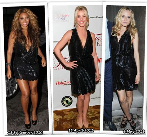 Who Wore Roberto Cavalli Better by Who Wore Roberto Cavalli Better Beyonce Knowles Julianne