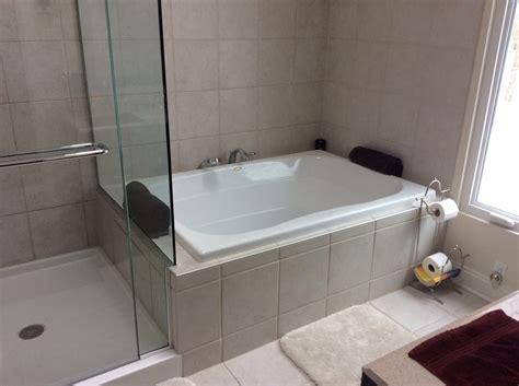 custom bathtub shower combo custom bathroom with shower bath combo heated floors