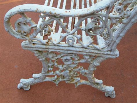 antique cast iron garden bench antique coalbrookdale garden bench in cast iron at 1stdibs