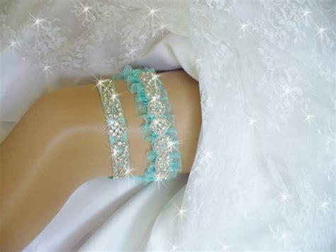 Wedding Garter Sets by Garter Aqua Blue Wedding Garter Set Aqua Wedding Garter