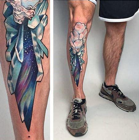 lower leg sleeve tattoos for men 80 shin tattoos for masculine lower leg design ideas