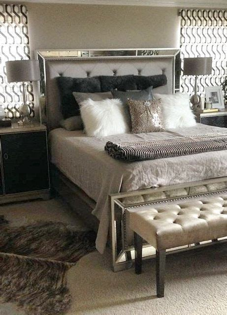 facebook fan sandie  shared  bedroom update styled   ava bed lola bench glam