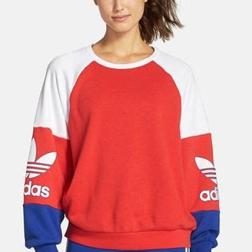 Sweater Adidas 3 Colors adidas color block crew neck sweater on the hunt