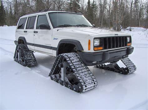 jeep snow tracks cherokee with snow tracks jeep cherokee forum