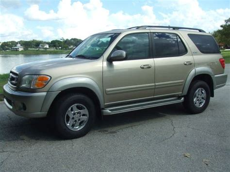 how it works cars 2002 toyota sequoia transmission control buy used 2002 toyota sequoia sr5 4x4 leather loaded everything works cold ac florida car in