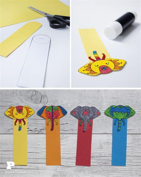 printable elephant bookmarks free printable elephant bookmarks