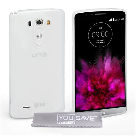 Transparent Silicone Soft Gel For Lg G4 yousave accessories lg g4 silicone gel clear