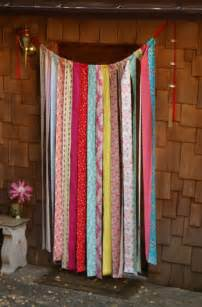 fabric strip curtains fabric scrap curtains fabricadabra s blog