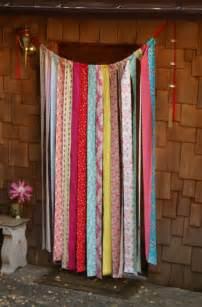 Fabric Strip Curtains » Home Design 2017