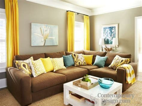 curtains for living room with brown furniture living room paint color ideas with brown furniture