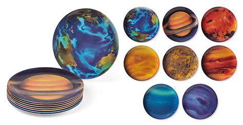 How To Make Planets With Paper - planetary plates the green