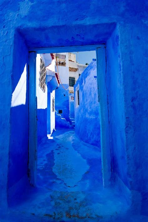 morocco blue city blue town of chefchaouen morocco this is africa lifestyle