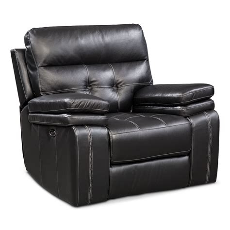 black power reclining sofa brisco power reclining sofa and glider recliner set