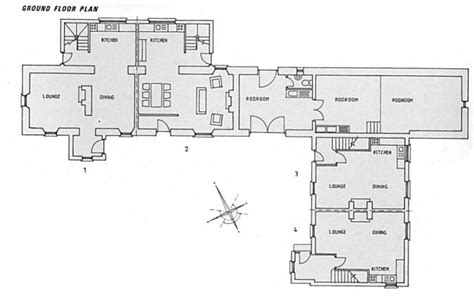 l shaped house plans modern boathouse cottages self catering family holidays