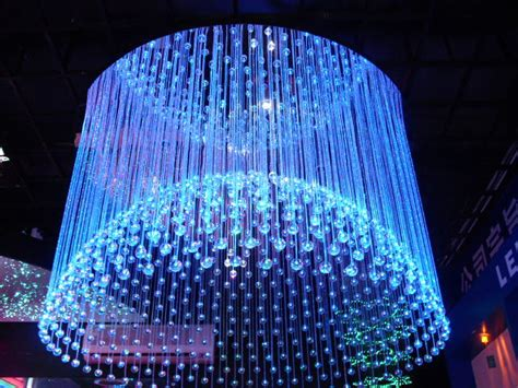 Fiber Optic Chandelier A Do It Yourself Project That Is And Can Save Money Fiber Optic Chandelier