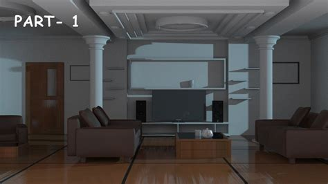 Interior Models 3ds Max Free by Interior Modeling 3ds Max Tutorial 2015
